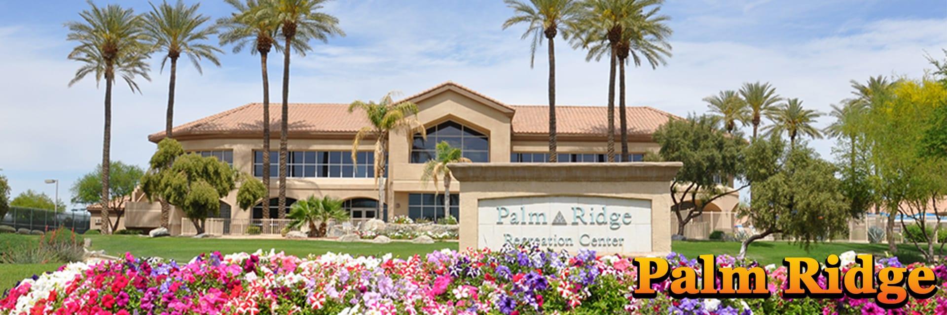 Palm Ridge Recreation Center at Sun City West AZ