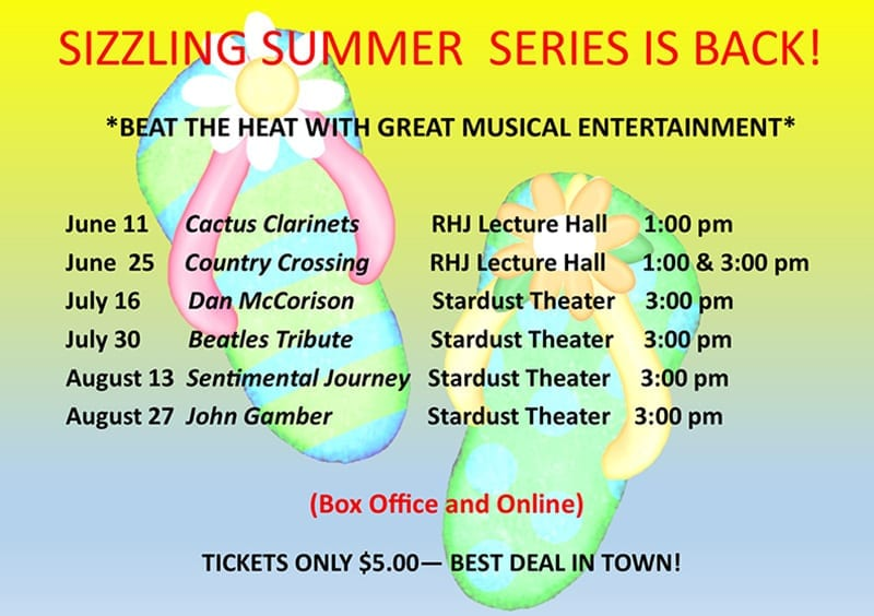 Sizzling Summer Series