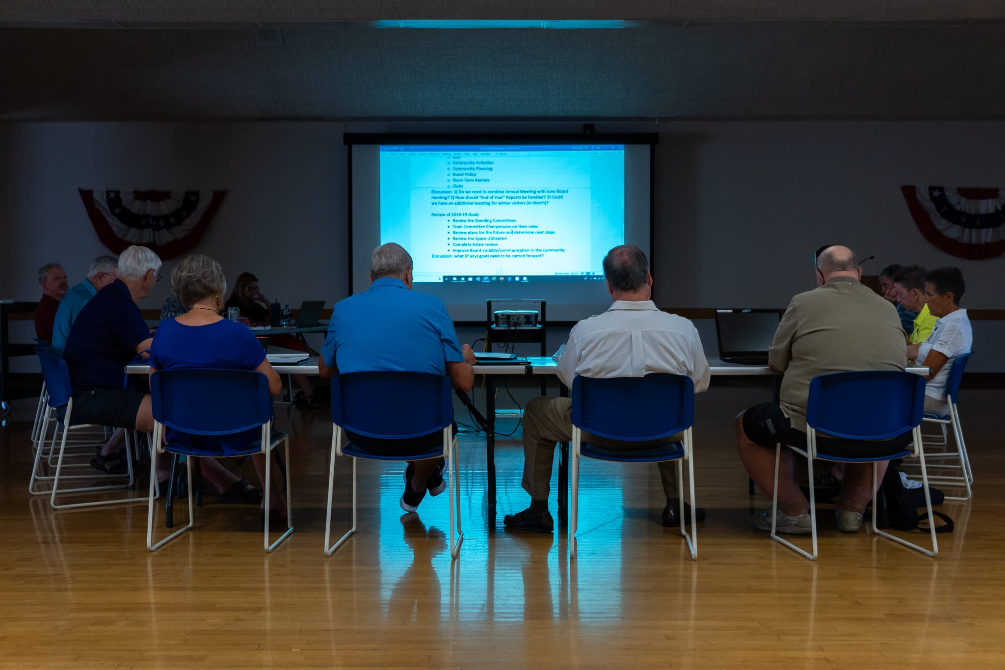 RCSCW Governing Board develops goals for 2019-20