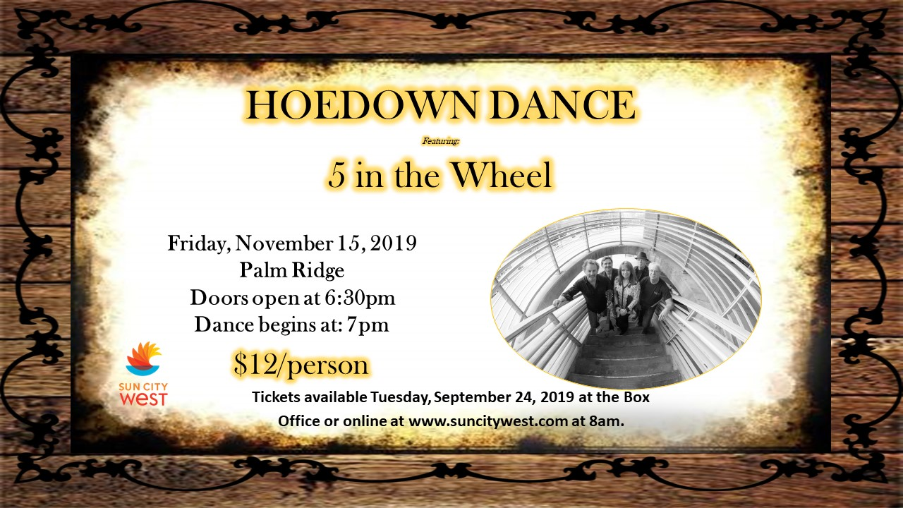 Hoedown Dance with 5 in the Wheel