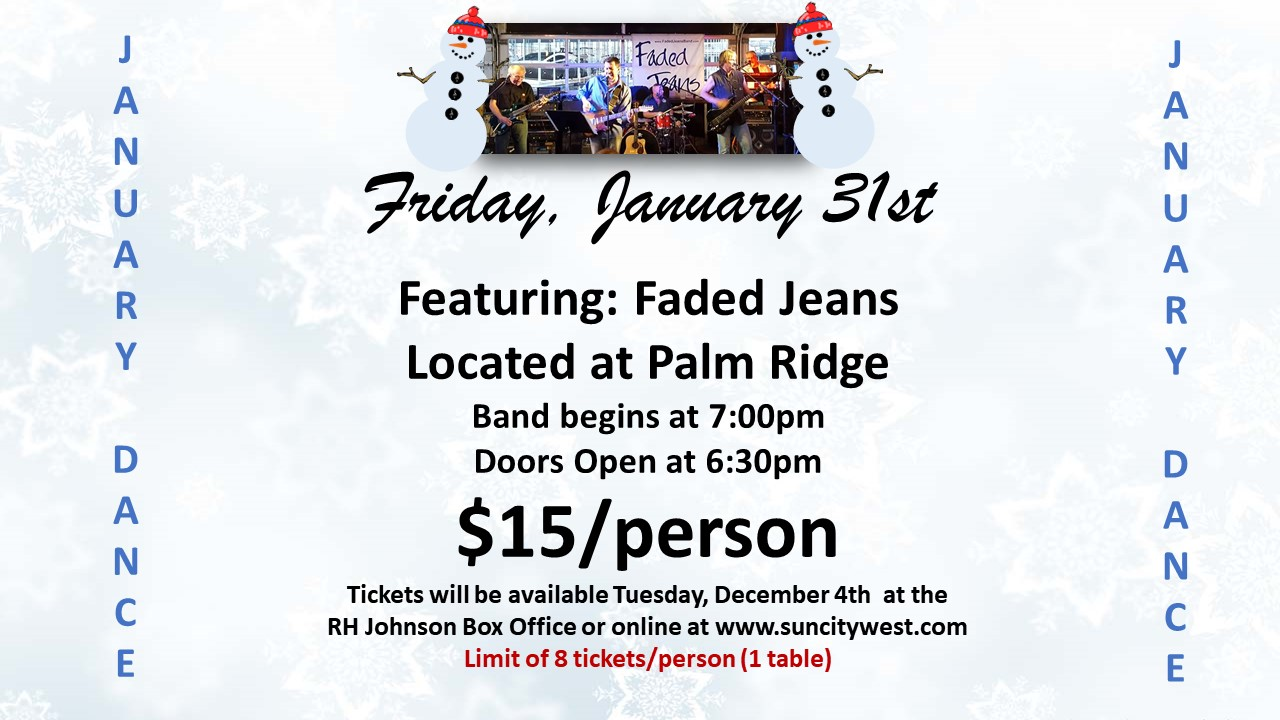 Local favorites return for January Dance