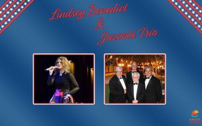 Lindsey Benedict and Jazzola Trio concert