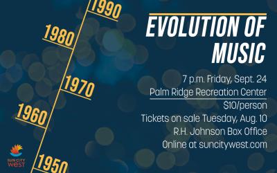 RCSCW and Rhythm Edition present Evolution of Music