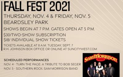 Fall Fest returns for 2021