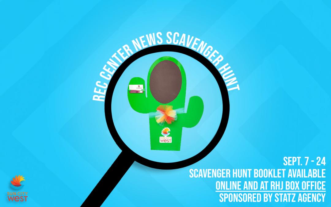 September scavenger hunt