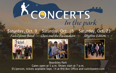 October 2021 Concerts in the Park