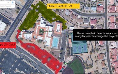 Kuentz Parking Lot Resurfacing