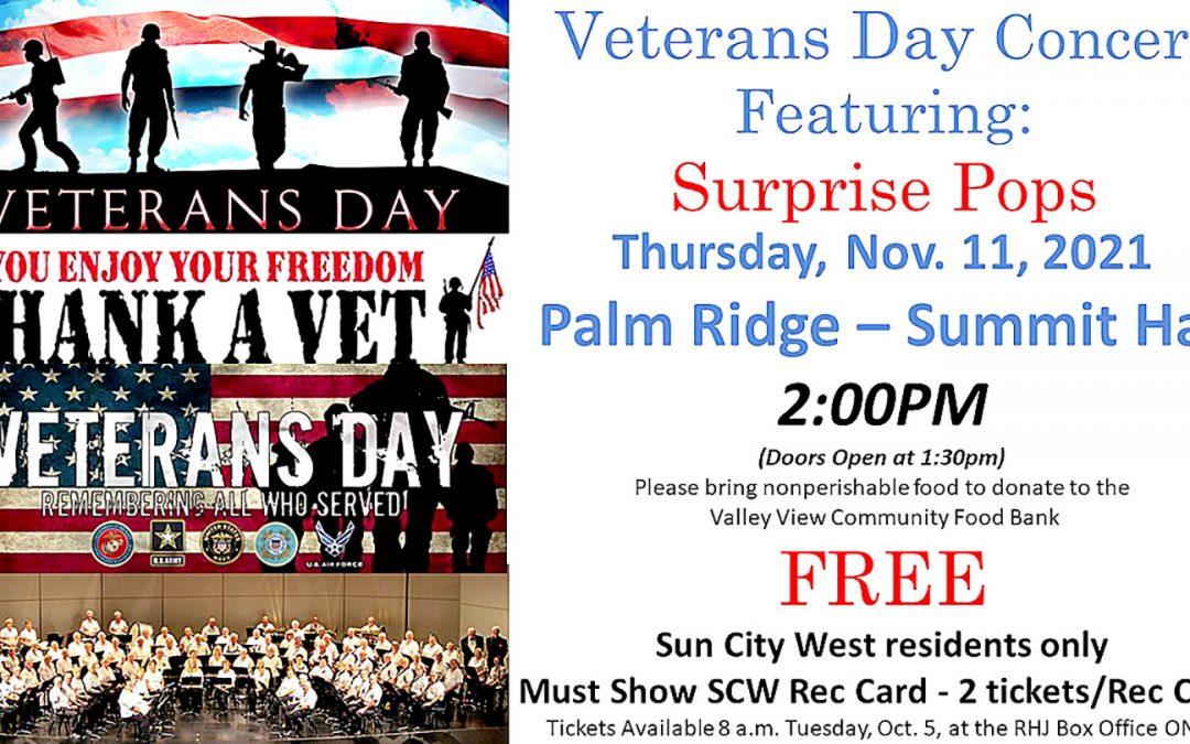 2021 Veterans Day Concert